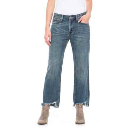 Lucky Brand Girl Next Door Boyfriend Jeans (For Women) in Azure Bay - Closeouts
