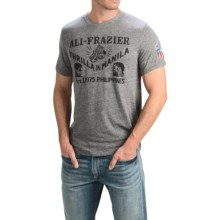 Lucky Brand Graphic T-Shirt - Short Sleeve (For Men) in Grey/Ali Frazier - Closeouts
