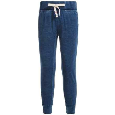 Lucky Brand Indy Joggers (For Big Girls) in Lucky Indigo Heath - Closeouts