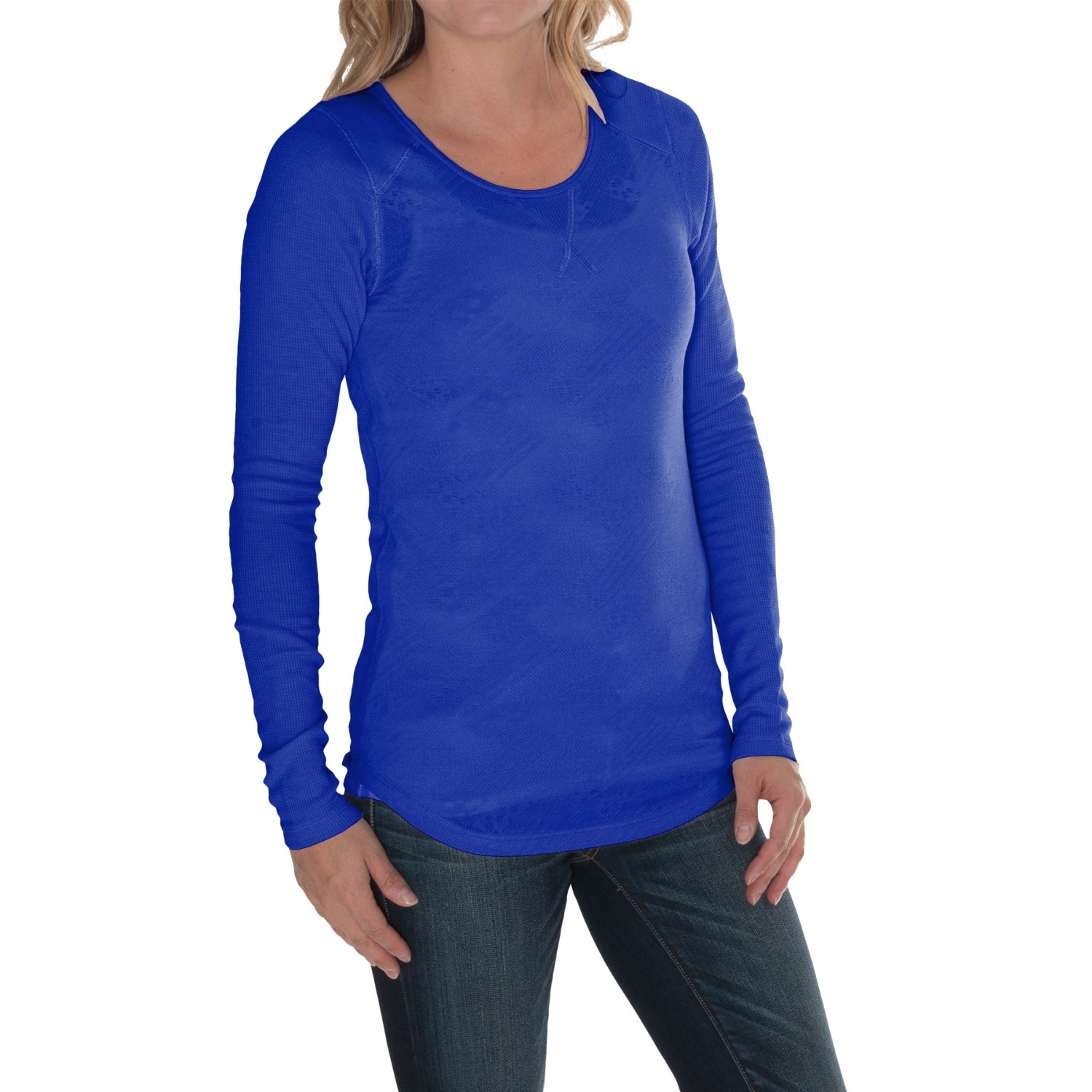 Lucky Brand Jacquard Thermal Shirt For Women