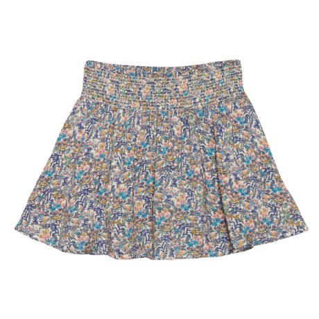 Lucky Brand Katie Printed Challis Skirt (For Toddler Girls) in Biscotti