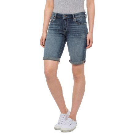 7850aac64f7d0 Lucky Brand Lake Bridgeport Bermuda Shorts (For Women) in Lkb7 Lake  Bridgeport - Closeouts