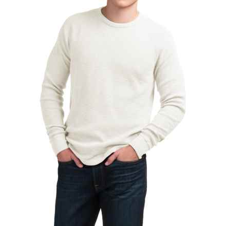 Lucky Brand Lived-In Thermal Shirt - Long Sleeve (For Men) in Marshmallow - Closeouts