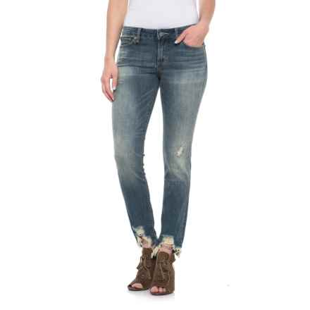 Lucky Brand Lolita Skinny Jeans (For Women) in Chapparral - Closeouts