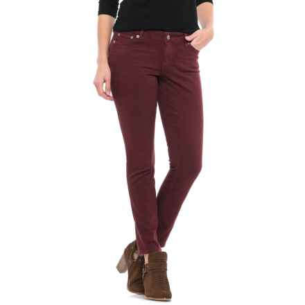 Lucky Brand Lolita Skinny Jeans (For Women) in Tawny Port - Closeouts