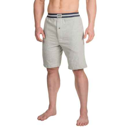 Lucky Brand Lounge Shorts (For Men) in Heather Grey - Closeouts