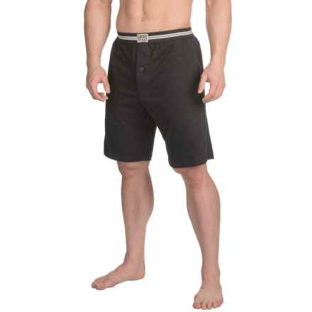 Lucky Brand Lounge Shorts (For Men) in Jet Black - Closeouts