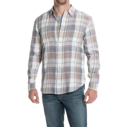 Lucky Brand Mason Workwear Shirt - Long Sleeve (For Men) in Blue/Grey - Closeouts