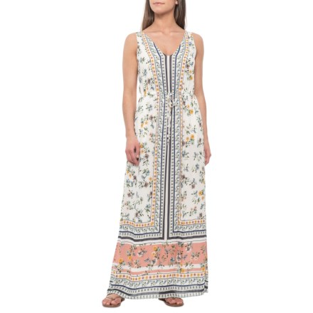 4c0e8c87db0 Lucky Brand Multi Border Print Maxi Dress - Sleeveless (For Women) in Multi  -