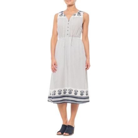37b8dc4ad2 Lucky Brand Natural Multi Polka-Dot Tank Dress - Sleeveless (For Women) in