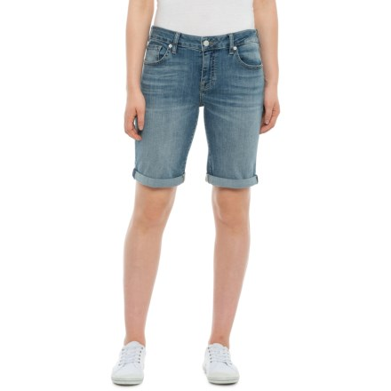 2951b6b883 Lucky Brand Northridge Bermuda Denim Shorts (For Women) in Northridge -  Closeouts