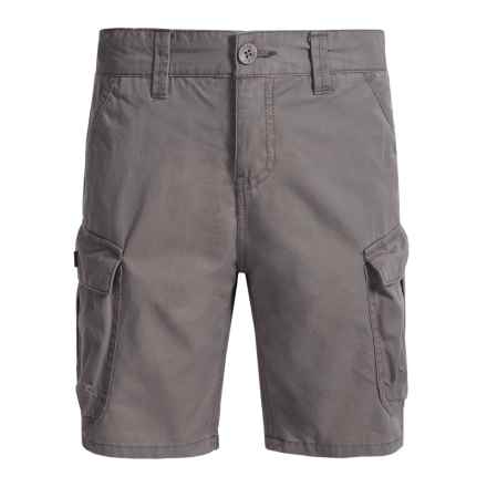 Lucky Brand Pham Cargo Shorts (For Big Boys) in Charcoal - Closeouts