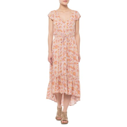 c33414eb321 Lucky Brand Pink Multi Felice Dress - Short Sleeve (For Women) in Pink Multi