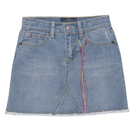Lucky Brand Sandy Denim Skirt (For Little Girls) in Christie Wash