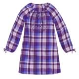 Lucky Brand Sarah Plaid Dress - Long Sleeve (For Big Girls)