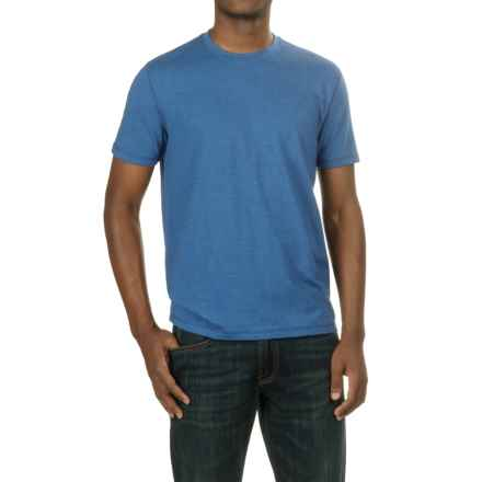 Lucky Brand Saturday Stretch T-Shirt - Short Sleeve (For Men) in Monaco Blue - Closeouts