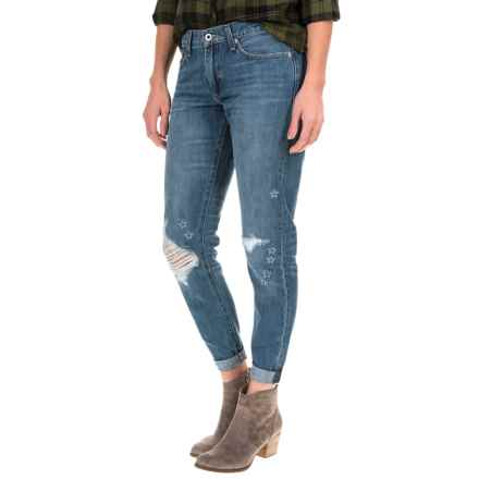 Lucky Brand Sienna Slim Boyfriend Jeans (For Women) in Olympic Blue - Closeouts