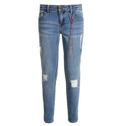 Lucky Brand Skinny Jeans (For Big Girls) in Christie Wash - Closeouts