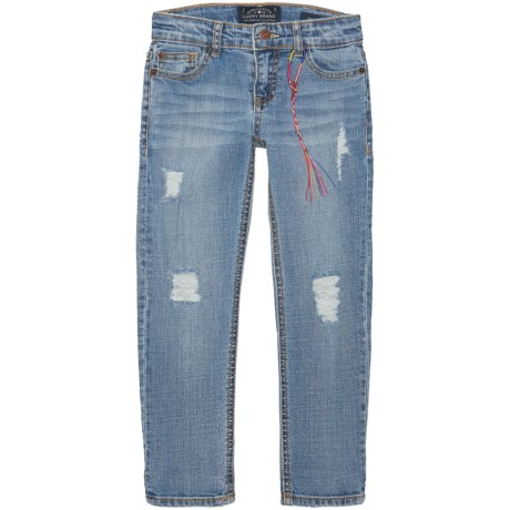 Lucky Brand Skinny Jeans (For Little Girls) in Christie Wash