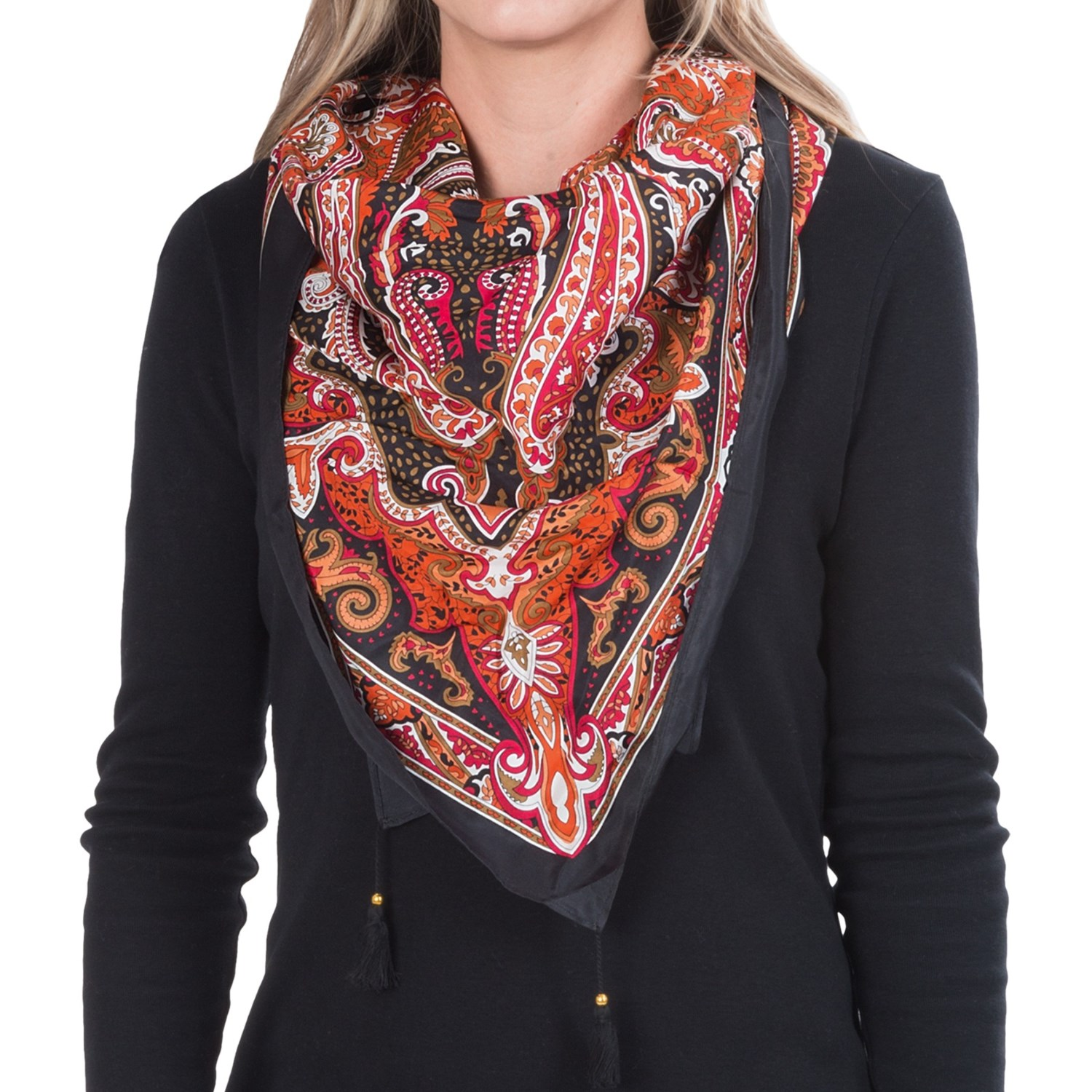 paisley black single women Buy women green paisley silk-blend velvet scarf (black): shop top fashion  brands accessories at amazoncom ✓ free delivery and returns possible on .