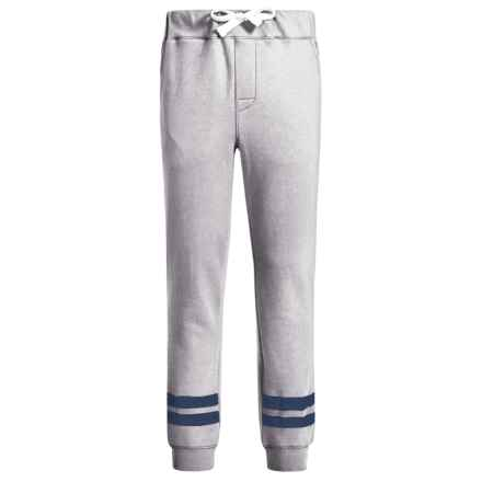 Lucky Brand Stripe Knit Joggers (For Big Boys) in Grey Heather - Closeouts