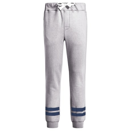 Lucky Brand Stripe Knit Joggers (For Big Boys) in Grey Heather
