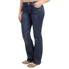 Lucky Brand Sweet 'N Low Bootcut Jeans - Curvy Fit, Mid Rise (For Women) in Dark Paley - Closeouts