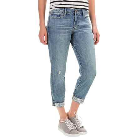 Lucky Brand Sweet Crop Jeans (For Women) in Star Ridge - Closeouts