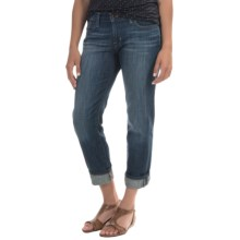 Lucky Brand Sweet Crop Jeans - Relaxed Fit, Mid Rise (For Women) in Hayward - Closeouts