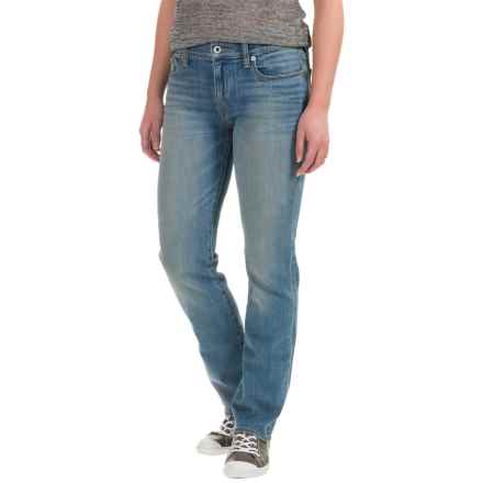 Lucky Brand Sweet Jeans - Mid Rise, Straight Leg (For Women) in Reflection - Closeouts