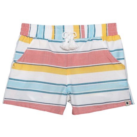 Lucky Brand Tia Shorts (For Little Girls) in Marshmallow