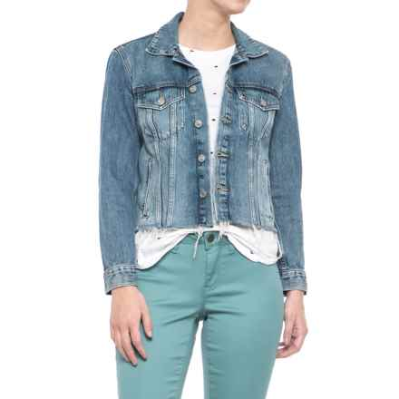 Lucky Brand Tomboy Trucker Jacket (For Women) in Allamere Falls - Closeouts