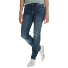 Lucky Brand Ultra Curvy Sofia Skinny Jeans (For Women) in Lapis Lazuli - Closeouts