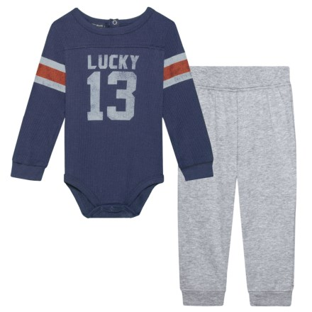 c709e1926941 Lucky Brand Varsity Baby Bodysuit and Pants Set - Long Sleeve (For Infant  Boys)