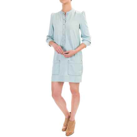 Lucky Brand Victorian Dress - Long Sleeve (For Women) in Windsor - Closeouts