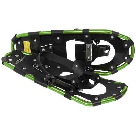 "Lucky Bums 22"" Snowshoes (For Kids) in Green - Overstock"