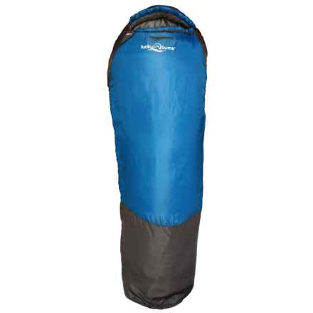 "Lucky Bums 26°F Serenity II Sleeping Bag - 74"" in Blue - Closeouts"