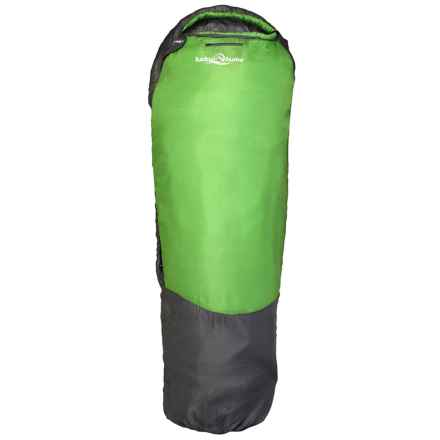 """Lucky Bums 26°F Serenity II Sleeping Bag - 74"""" in Green - Closeouts"""