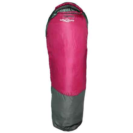 """Lucky Bums 26°F Serenity II Sleeping Bag - 74"""" in Pink - Closeouts"""