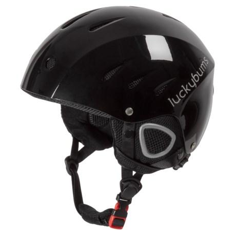 Lucky Bums Alpine Series Ski Helmet (For Kids) in Black