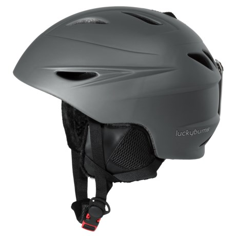Lucky Bums Alpine Series Ski Helmet (For Kids) in Charcoal