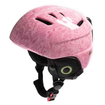 Lucky Bums Doodlebug Ski Helmet (For Kids) in Bubble Gum - Overstock