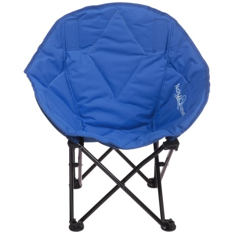 Lucky Bums Jr. Sofa Lounge Camp Chair in Navy