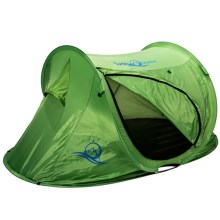 Lucky Bums Kids Quick-Camp Tent in Green - Closeouts