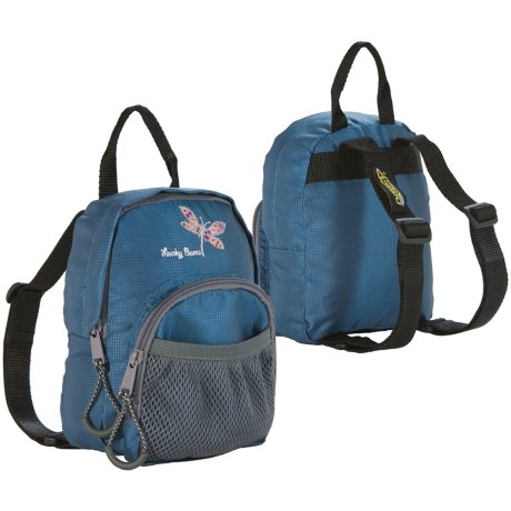 Lucky Bums Lucky Bug Toddler Daypack - 1L in Blue/Dragonfly