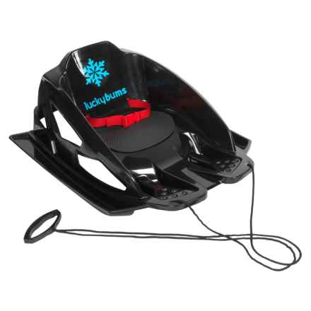 Lucky Bums Mini Pull Sled in Black - Closeouts