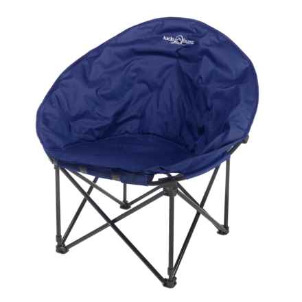 Lucky Bums Moon Camp Chair - Large in Blue - Closeouts