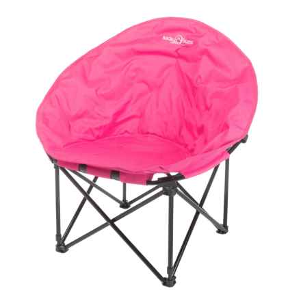 Lucky Bums Moon Camp Chair - Large in Pink - Closeouts