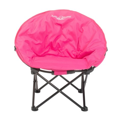 Lucky Bums Moon Camp Chair - Medium in Pink