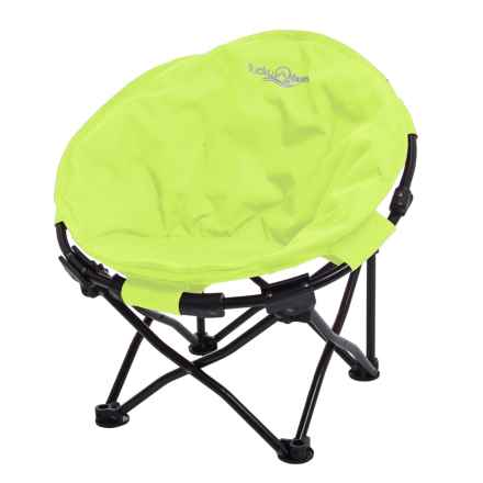 Lucky Bums Moon Camp Chair - Small in Green - Closeouts